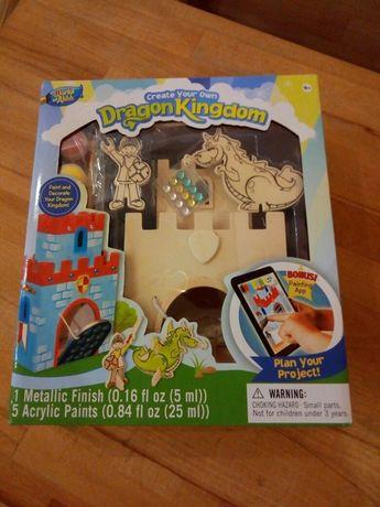 Набор для творчества для мальчика Королевство дракона (рисование)