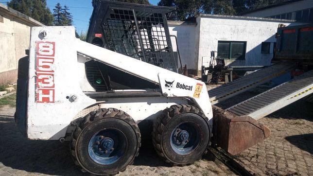 Bobcat 853 + Porta paletes