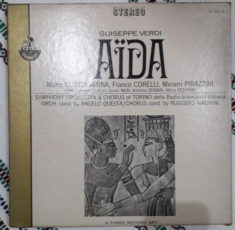 Aida - Cetra Opera Series. Com libreto