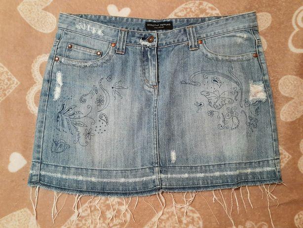 Жіноча джинсова спідниця / женская джинсовая юбка