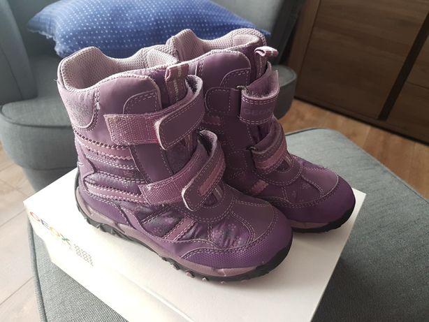 Buty zimowe dziecięce Geox 28