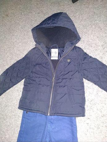 Фирменная теплая куртка