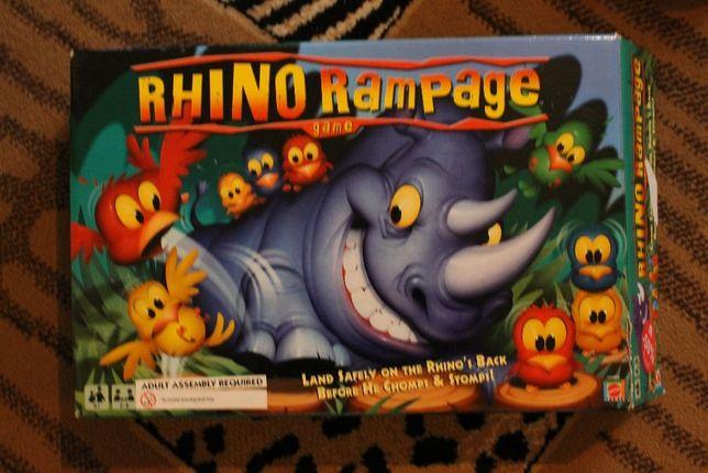 Rhino rampage Szalony Nosorożec gra dla dzieci od lat 4