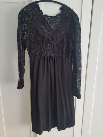 Elegancka ciążowa sukienka wieczorowa Anna Field L koronkąa Święta