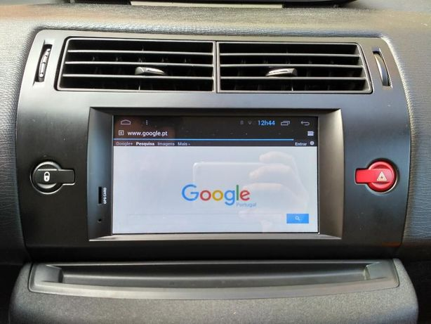 Auto rádio Citroen C4 Android com GPS DVD TV Bluetooth USB WIFI