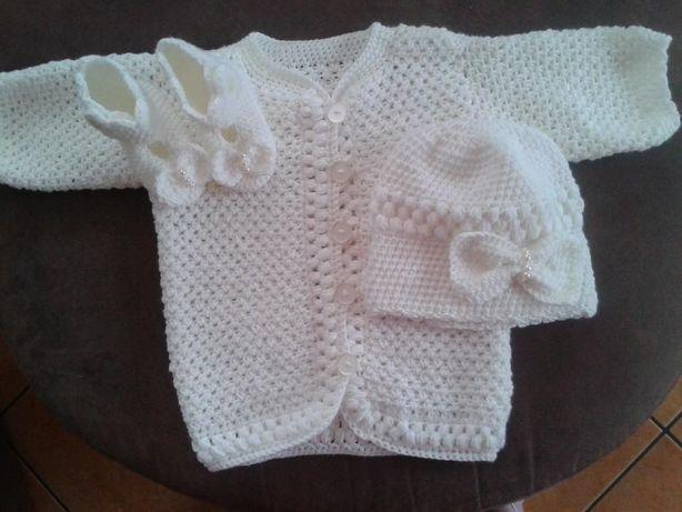 sweterek+czapeczka +buciki