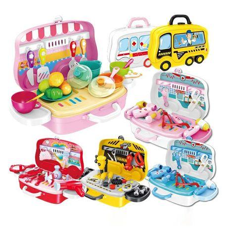 """Игровой набор в чемодане,набор """"Кухня"""",""""Доктор"""" и многое другое"""