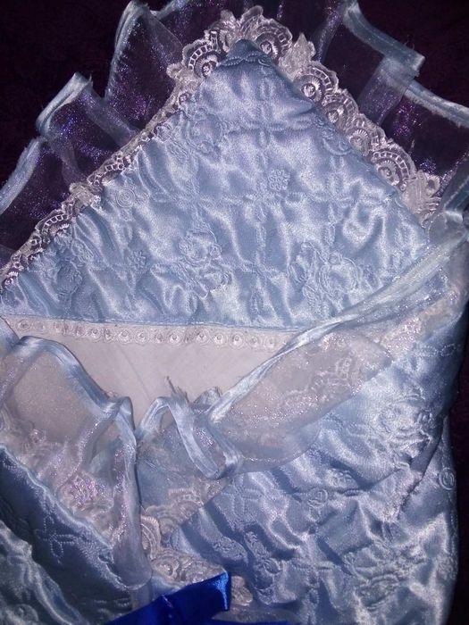 Конверт теплый для новорожденных Соленое - изображение 1