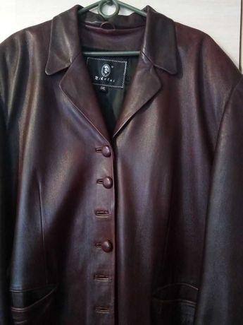 Кожаный плащ 52р,супер качество,хорошее состояние,цена 3000 руб