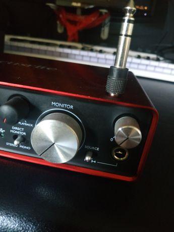 Focusrite Scarlett 2i4 Audio Usb 3.0 Interface