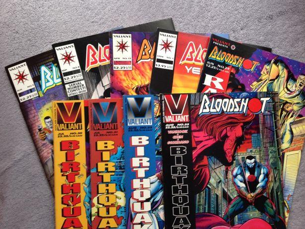 Komiksy amerykańskie BLOODSHOT, Valiant
