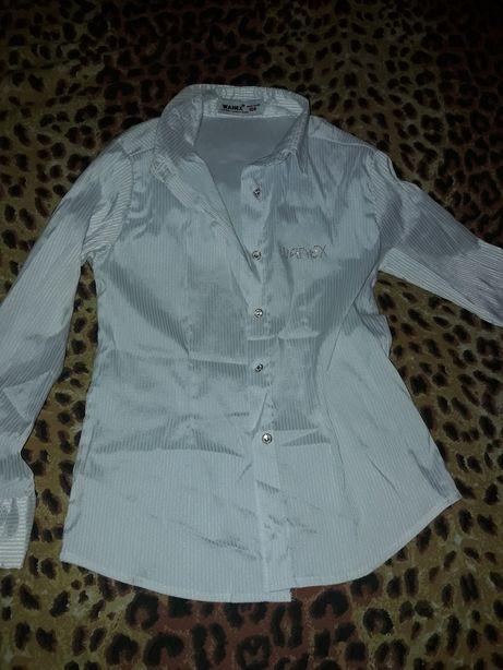 Школьная блузка, блузка, рубашка, школьная форма, 7лет, 8лет, 9 лет