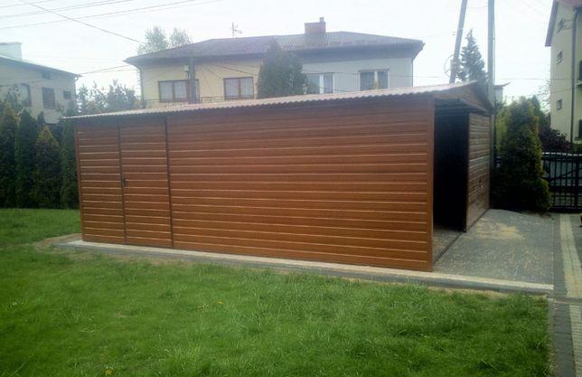 PRODUCENT!!! Garaż blaszany bramy schowki wiaty garaże blaszaki