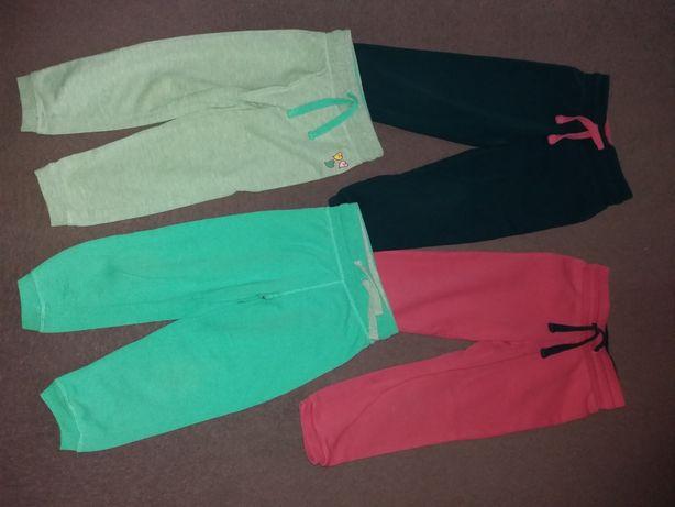 spodnie dresowe 98-104. 4 szt.