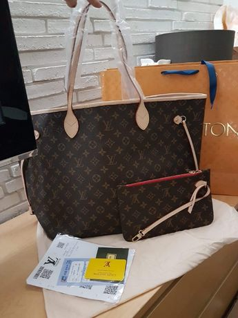Torba torebka listonoszka kuferek Louis Vuitton Neverfull GM MM