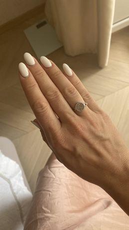 Кольцо бриллианты Zarina