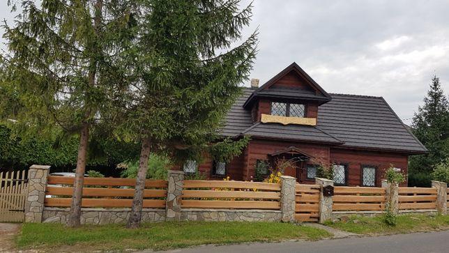 Willa KAPTURÓWKA + domek drewniany. SPRZEDAM.