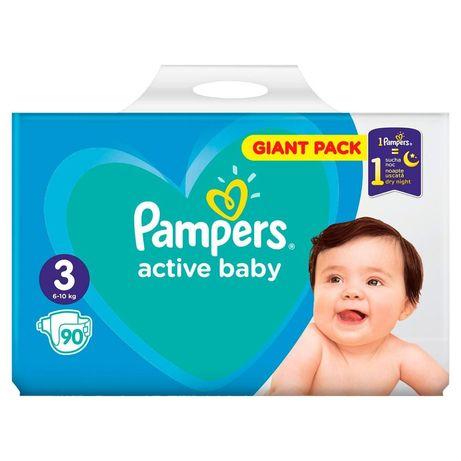 ПАМПЕРСЫ Pampers Active Baby. Подгузники поштучно ( 3ка )