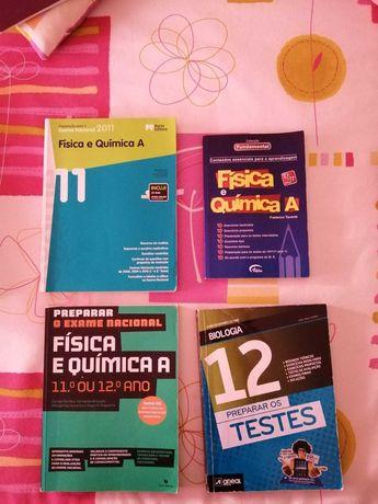 Livros de preparação para exames (várias temáticas)