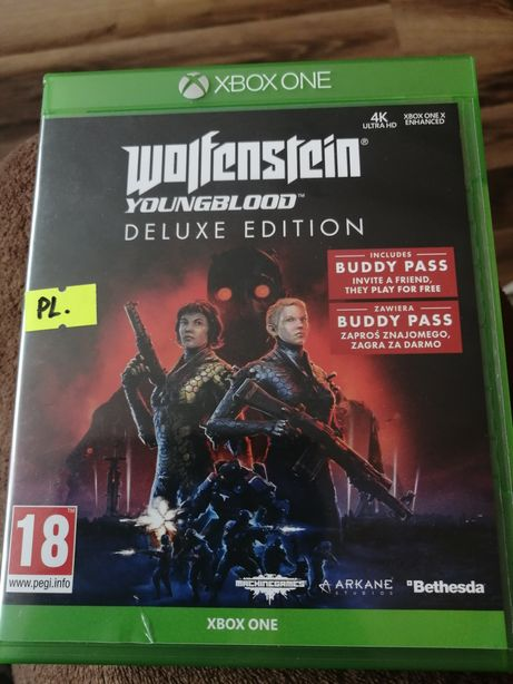 Super gra Xbox one deluxe edition.