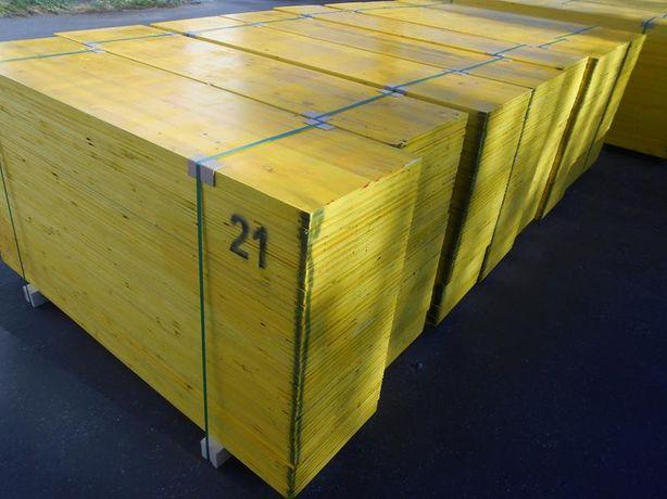 BLAT 3 warstwowy SUPER CENA nowy II klasa żółty blaty stropowe sklejka