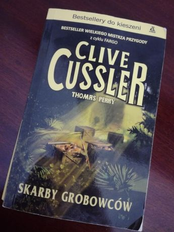 """Skarby grobowców"" Clive Cussler Thomas Perry"