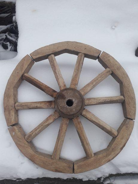 Продам деревянные колеса до воза , новые