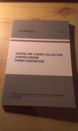Sympozja 37 Canon Law. A Basic Collection prawo kanoniczne kodeks