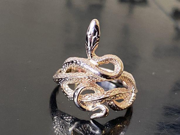 Золотое кольцо змея 585 проба акция распродажа