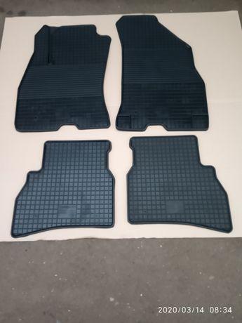 Коврики резиновые Renault Megane 2,3 ,Fluence, Scenic,Fiat Doblo
