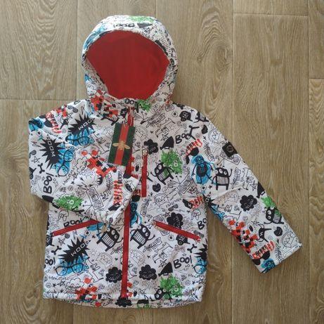 Демисезонная детская куртка . Размеры: 104, 116, 128