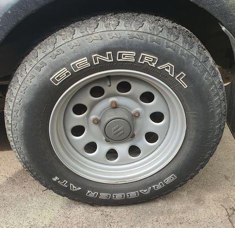 ШиныGeneral Grabber AT2 205/75/R15 покрышки колеса