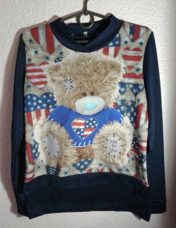 Кофта для девочки мишка Тедди