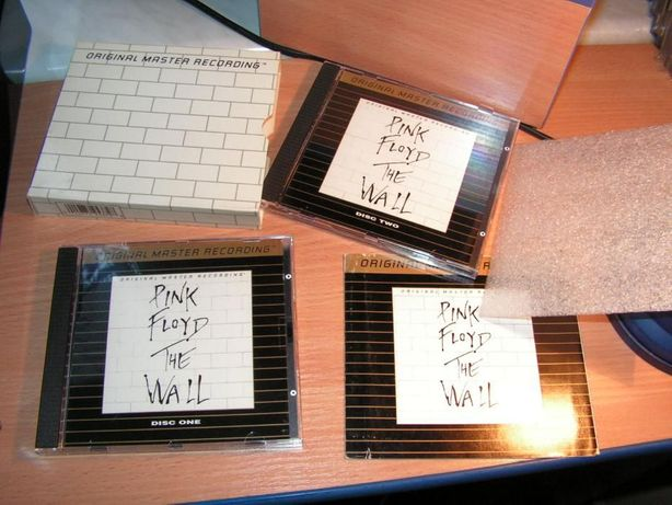 Pink Floyd - The Wall MFSL UDCD 2-537 Japan 24 karat gold
