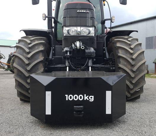 Metalowy Balast Obciążnik 800kg 1000kg 1200kg Jakość od Producenta
