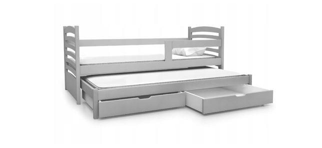 Łóżko młodzieżowe OLEK z barierką w różnych kolorach!