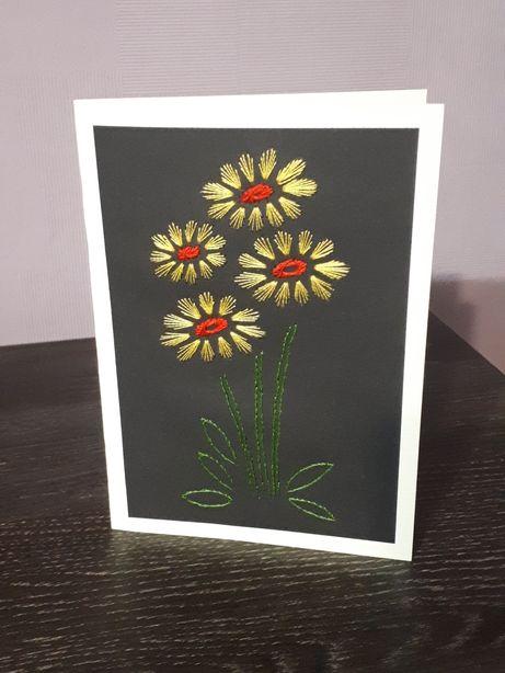 Kartki ręcznie robione imieninowe / urodzinowe