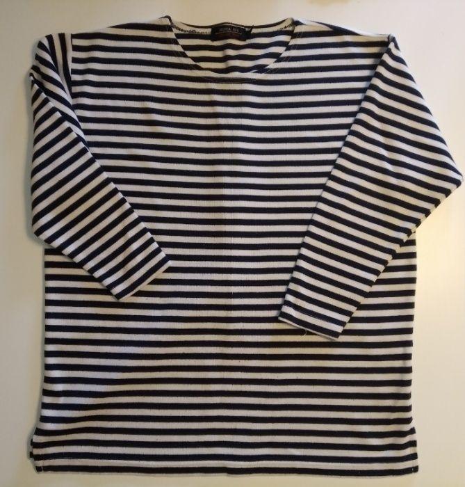 Oversizowa bluzka w paski Komorowo - image 1