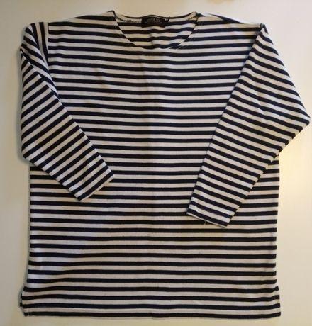 Oversizowa bluzka w paski