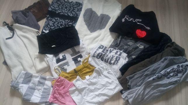 Wielka paka ubrań diverse, reserved, cropp, big star 17 rzeczy!