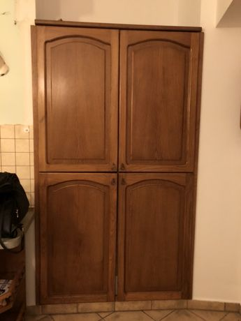 Fronty drewniane szafy wnekowej