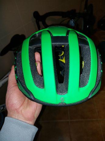 Capacete Scott Centric Plus Verde