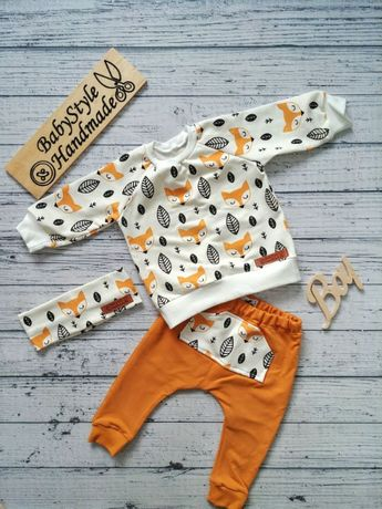 Dres bluza bluzka spodnie leginsy HANDMADE BabyStyle dla dziecka