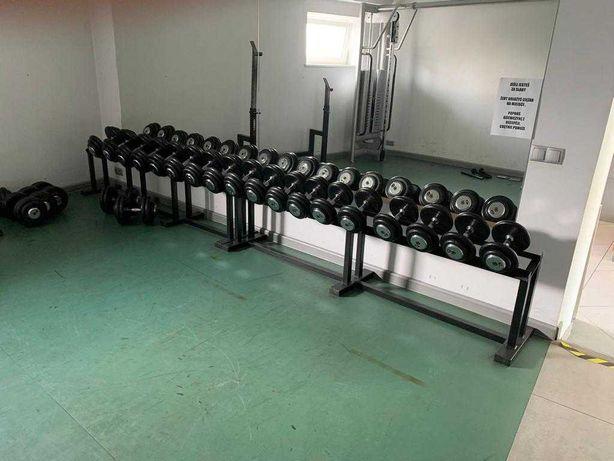 Hantle 670kg - siłownia