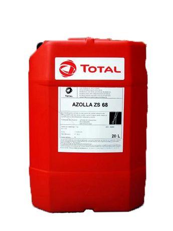 Nowy Olej hydrauliczny TOTAL AZOLLA 68 - 20 litrów x 3