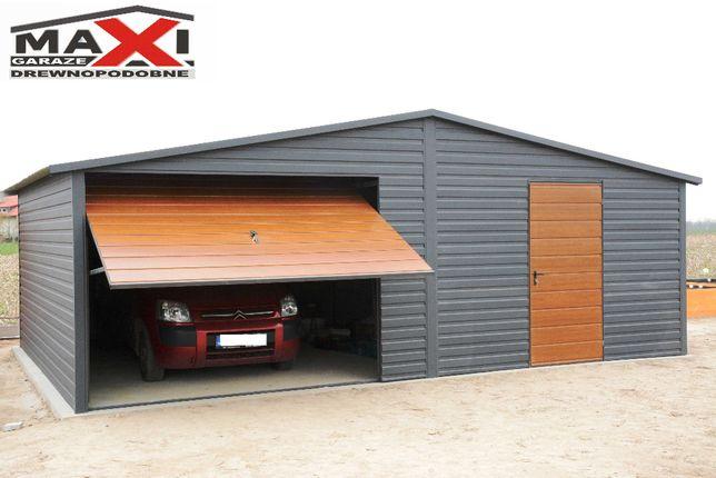 Garaz blaszany 6x6 do 35m2, bez pozwolenia, KONSTRUKCJA OCYNKOWANA !!