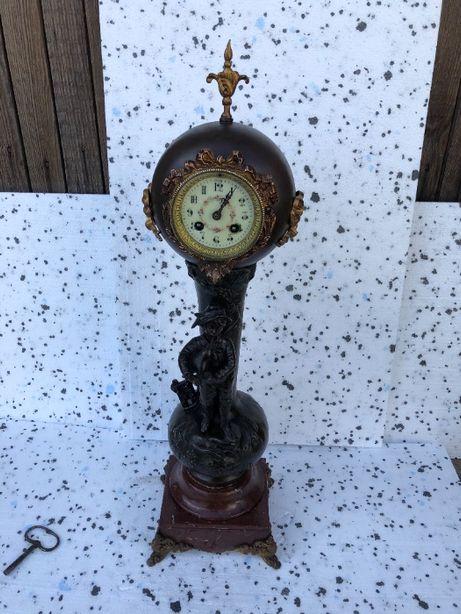 zegar kominkowy , XIX