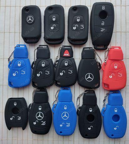 Чехол для ключ Mercedes Benz SL,S,A,Vito,C,E,ML,B,GL,CLK Корпус Брелок