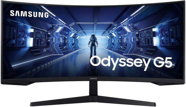 "Монитор 34"" Samsung Odyssey G5 LC34G55T Black (LC34G55TWWIXCI)"