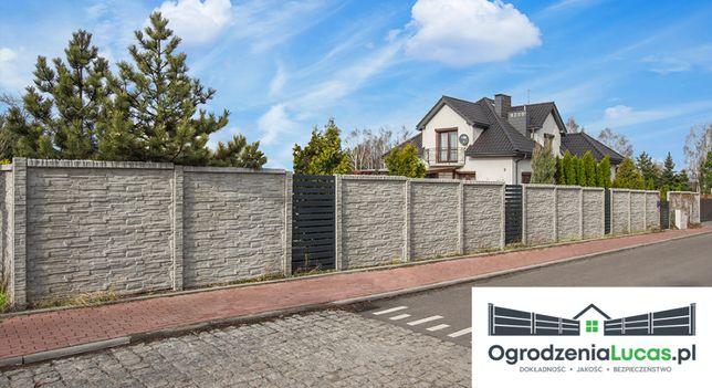 Montaż ogrodzeń betonowych, paneli, siatek,bram oraz furtek.